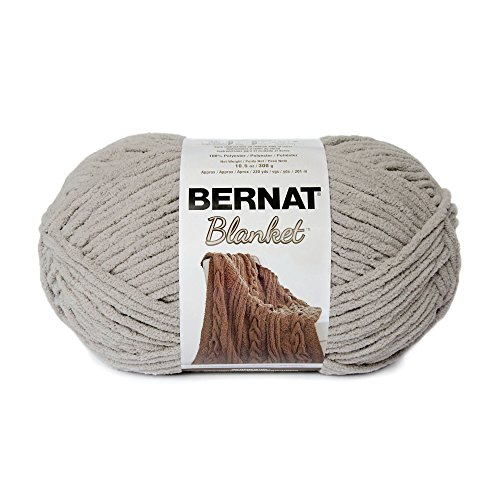 Bernat Blanket Yarn, 300 grs/ 10.5 oz, Pale Grey from Bernat