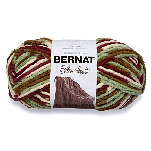 Bernat Blanket Yarn, 300 grs/ 10.5 oz, Plum Fields from Bernat