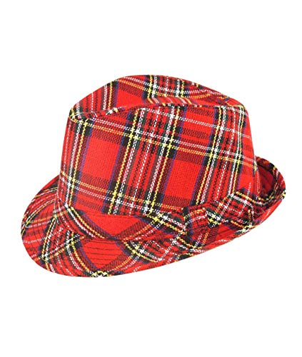 Hat Tartan Trilby Scotts scottish Scotland Burns Night Bay City Rollers from Best Dressed