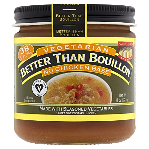 Better Than Bouillon, Vegetarian, No Chicken Base, 8 oz (227 g) from Better Than Bouillon