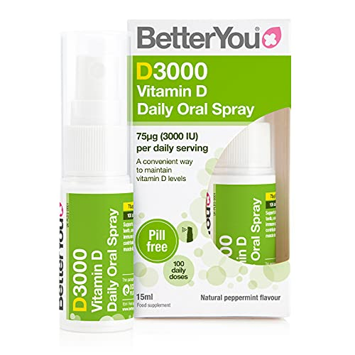 BetterYou DLux 3000 - Vitamin D Oral Spray - 15ml from Better You