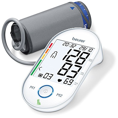 Beurer BM55 Upper Arm Blood Pressure Monitor with Health Manager from Beurer