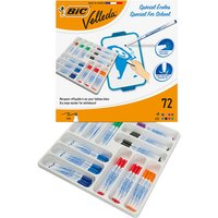 BiC Velleda 1721 White Board Marker Assorted (Pack of 72) from Bic