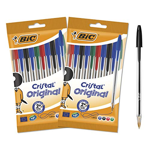 Bic 962704 Original Crystal Ball Pens (Pack of 20 from Bic
