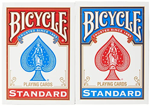Bicycle Poker Size Standard Index Playing Cards, 12 Deck Player's Pack from Bicycle