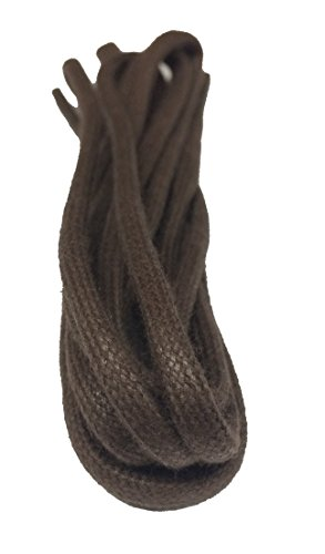 Big Laces Round Brown Waxed 75cm Shoelaces from Big Laces