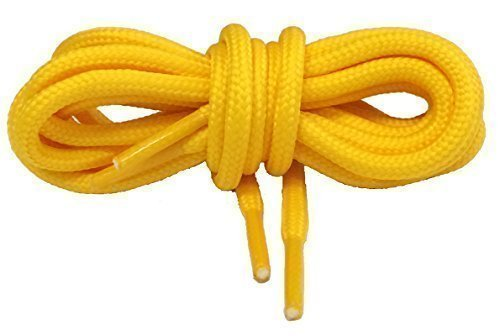 Big Laces Round Shoelaces Yellow 60cm from Big Laces