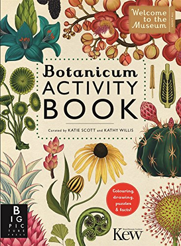 Botanicum Activity Book (Welcome To The Museum) from Templar Publishing