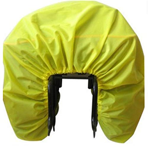 Bigsweety Bicycle Rain Cover Bike Rear Seat Carrier Bag Double Pannier Rain Cover from Bigsweety