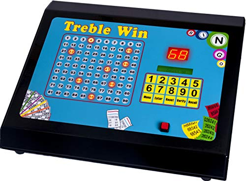 Treble Win Electronic Bingo, Raffle & Tote Machine from Bingo House