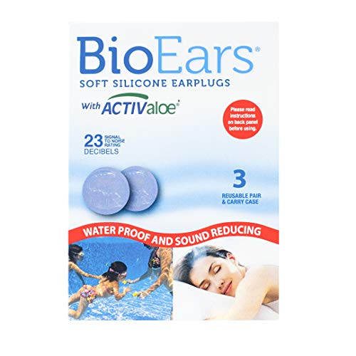 Bio Ears Soft Silicone EarPlugs Protection - 3 Pairs from Bio Ears