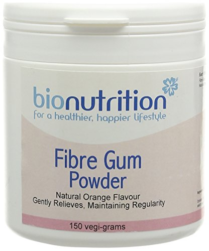 Bio Nutrition Fibre Gum Powder - Digestive Health Supplement - 150g Powder from Bio Nutrition
