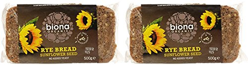 (2 Pack) - Biona - Organic Wholemeal Rye Bread | 500g | 2 PACK BUNDLE from Biona