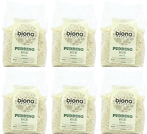 (6 PACK) - Biona - Org Pudding Rice | 500g | 6 PACK BUNDLE from Biona