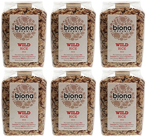 (Pack of 6) Biona - Org Wild Rice Mix 500 g from Biona