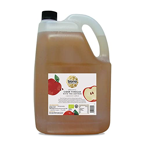 Biona Organic Apple Cider Vinegar Unfiltered with the Mother, 5 Litre from Biona