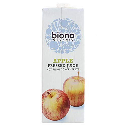 Biona Organic Apple Pressed Juice 1L (Pack of 2) from Biona