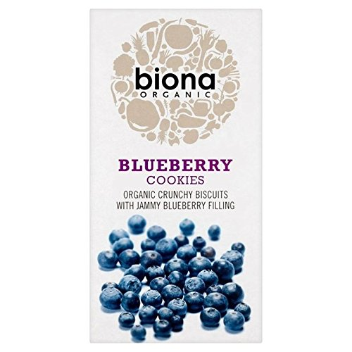 Biona Organic Blueberry Cookies 175g - Pack of 2 from Biona