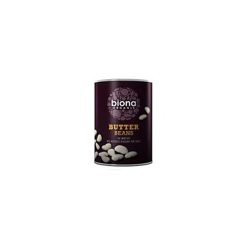 Biona Organic Butter Beans 400g (Pack of 6 ) from Biona