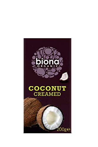Biona Organic Creamed Coconut (200g - Pack of 2 from Biona