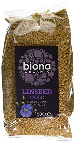Biona Organic Linseed Gold 500g (Pack of 6 from Biona