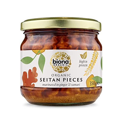 Biona Organic Seitan Pieces 350g (Pack of 6) from Biona