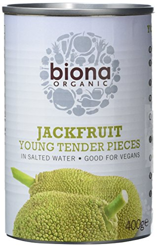 Biona Organic Young Jackfruit in salted water 400g (Pack of 6) from Biona