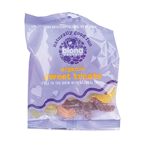Biona | Sour Snake Sweets - Organic | 4 x 75g from Biona