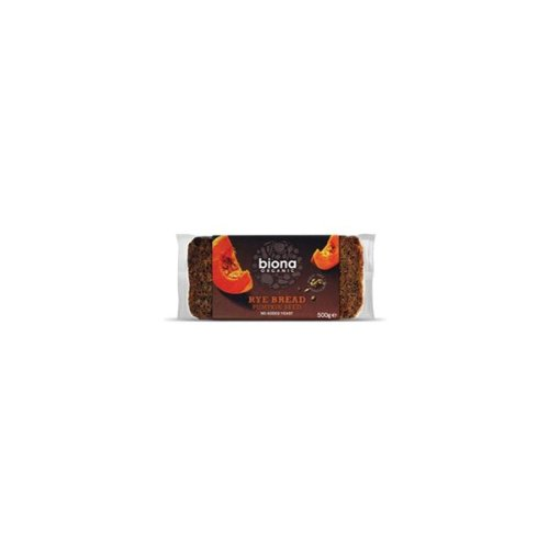 Org Rye Bread with Pumpkin (500g) ( x 12 Pack) from Biona