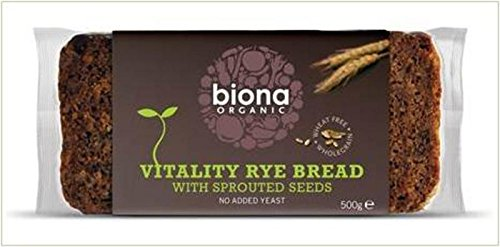 Org Sprout Mix Rye Bread (500g) - x 4 Units Deal from Biona