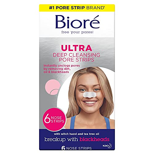 Biore Ultra Pore Strips Pack of 6 from Bioré