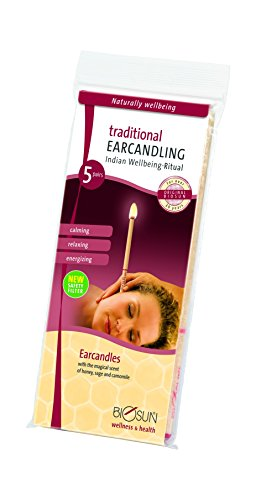 Hopi Ear Candles 5 Pair Pack from Biosun Ear Candles