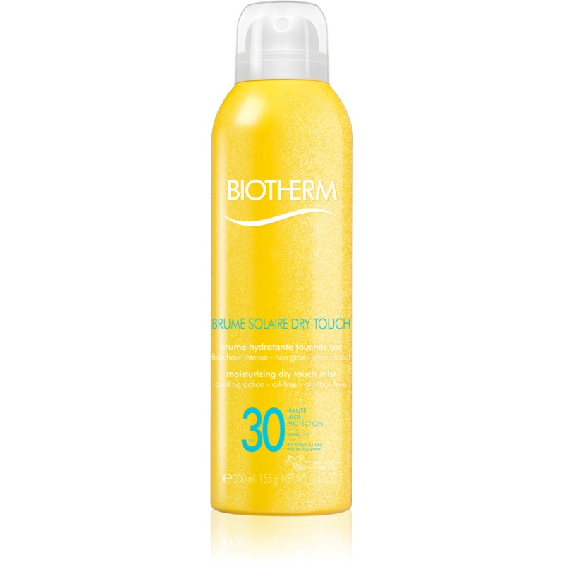 Biotherm Brume Solaire Dry Touch Moisturizing Mist Sunbathing With Matt Effect SPF 30 Waterproof 200 ml from Biotherm