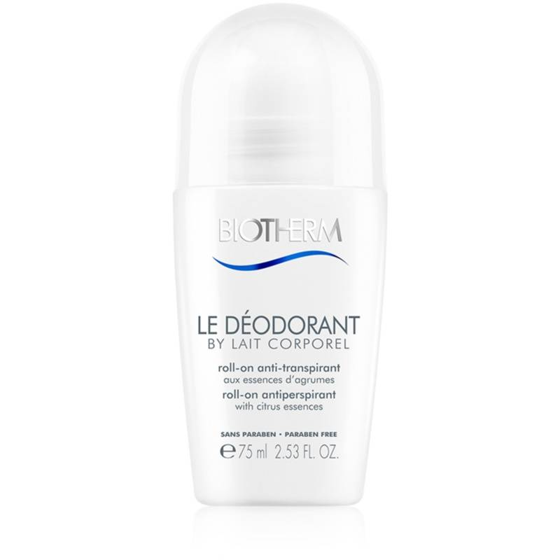 Biotherm Lait Corporel Le Déodorant Antiperspirant Roll-On Paraben-Free 75 ml from Biotherm