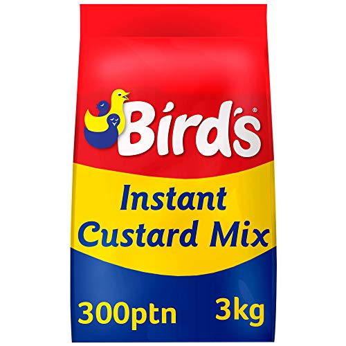 Birds Instant Custard Mix 3kg Bag Approx. 300 Portions from Birds