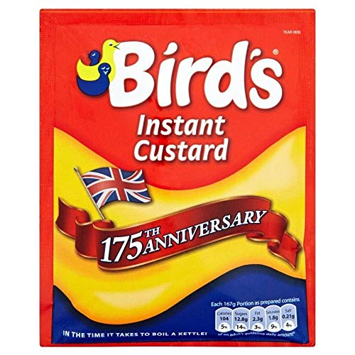 Birds Instant Custard Mix 6 x 75gm sachet from Birds