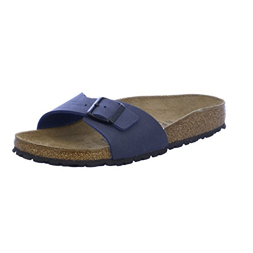 Birkenstock Madrid Unisex-Adults' Sandals Blue (Navy) - 4.5 UK from Birkenstock