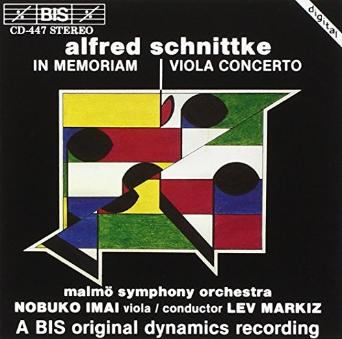 Schnittke: In Memoriam and Viola Concerto by Nobuko Imai from Bis