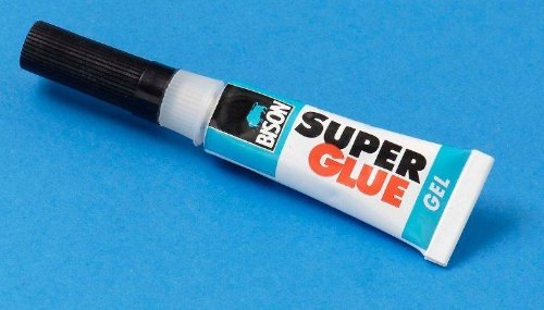 Bison Super Glue Gel - 3g tube - ideal for snooker, pool, billiard cue retipping from Bison