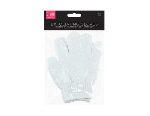 Beauty exfoliating mitts gloves find offers online and compare play tec bisou exfoliating bath shower gloves constructed from nylon and elastane fandeluxe Choice Image