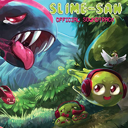 Slime San Official Soundtrack (Green Vinyl) [VINYL] from Black Screen Records