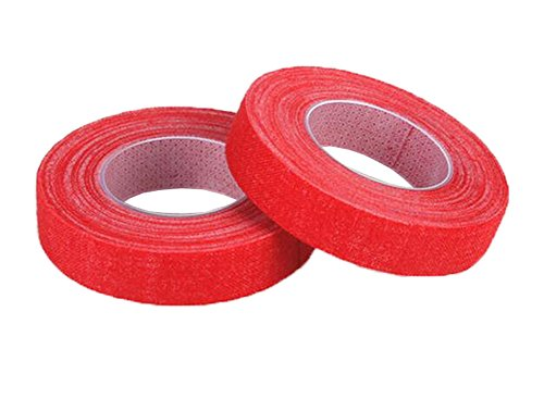 5 Rolls Finger Adhesive Tape for Guzheng/Guitar/Zither Strings Instrument, E from Black Temptation