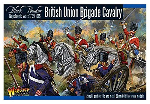 Warlord 1002 - British Napoleonic Union Brigade Cavalry - 12x Miniatures - Black Powder 28mm Wargaming Figures from BlackPowder
