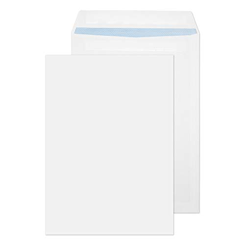 Blake Purely Everyday B4 352 x 250 mm 100 gsm Pocket Self Seal Envelopes (11060) White - Pack of 250 from Blake