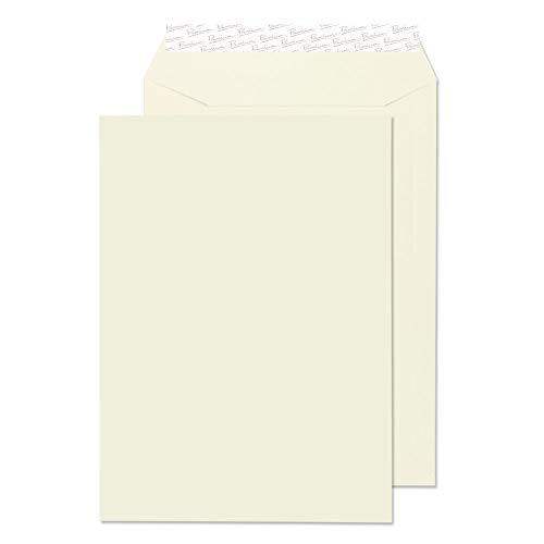 Blake Premium Business C4 324 x 229 mm 120 gsm Peel & Seal Pocket Envelopes (71653) Oyster Wove - Pack of 20 from Blake