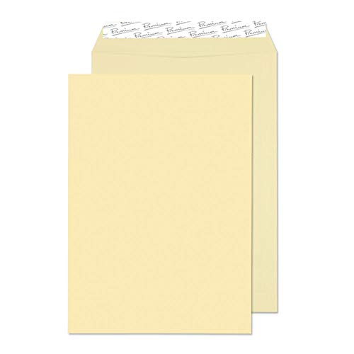 Blake Premium Business C4 324 x 229 mm 120 gsm Peel & Seal Pocket Envelopes (51653) Vellum Wove - Pack of 20 from Blake