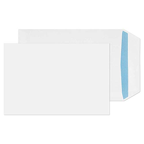 Blake Purely Everyday C5+ 240 x 165 mm 100 gsm Pocket Self Seal Envelopes (3331) White - Pack of 500 from Blake