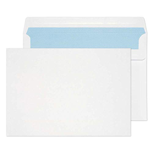 Blake Purely Everyday C5 162 x 229 mm 100 gsm Wallet Self Seal Envelopes (22707) White - Pack of 500 from Blake