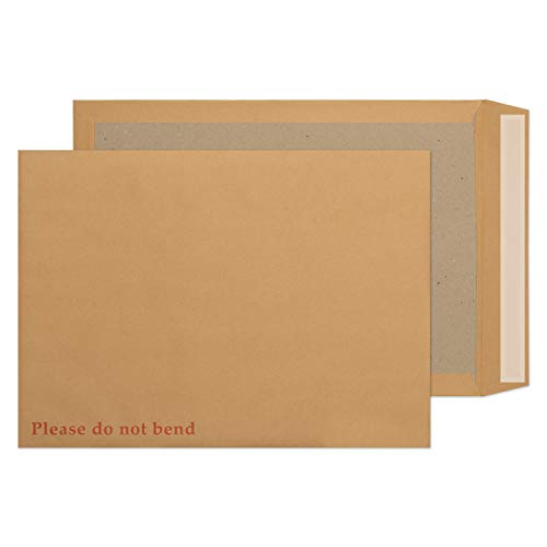 Blake Purely Packaging C3 (A3) 450 x 324 mm Board Back Pocket Peel & Seal Envelopes (4200) Manilla - Pack of 100 from Blake