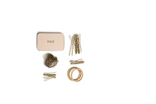 Bloch Unisex-Adult's Standard Hair Kit, Caramel, one from Bloch